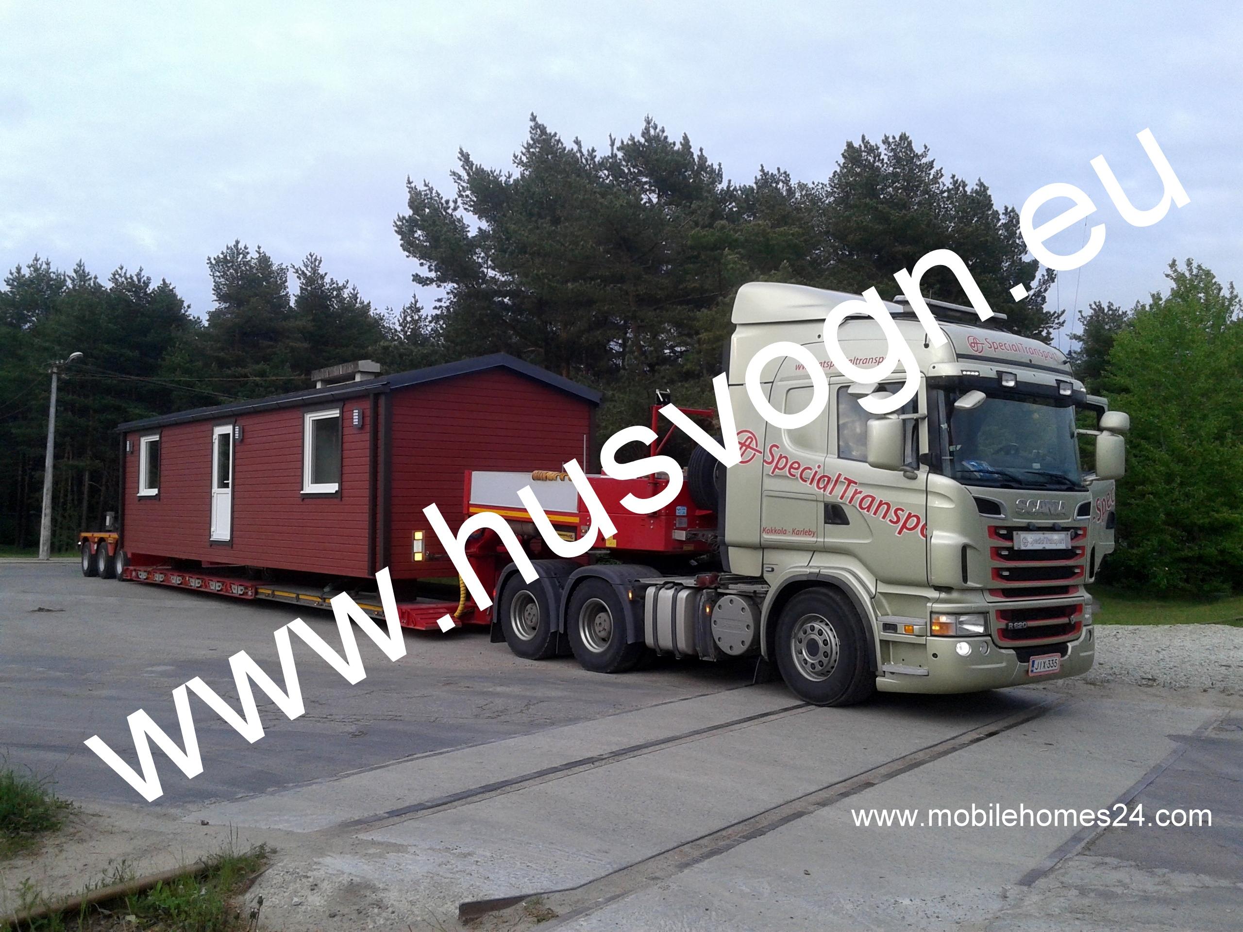 Husvogn, husvogner, husvogner til salgs, Estland mobile homes.