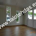 Talovaunu, talovaunut, talovaunu Virosta, talotehdas, ratastelkodu, työmaakoppi, toimisto, pyörillä talo