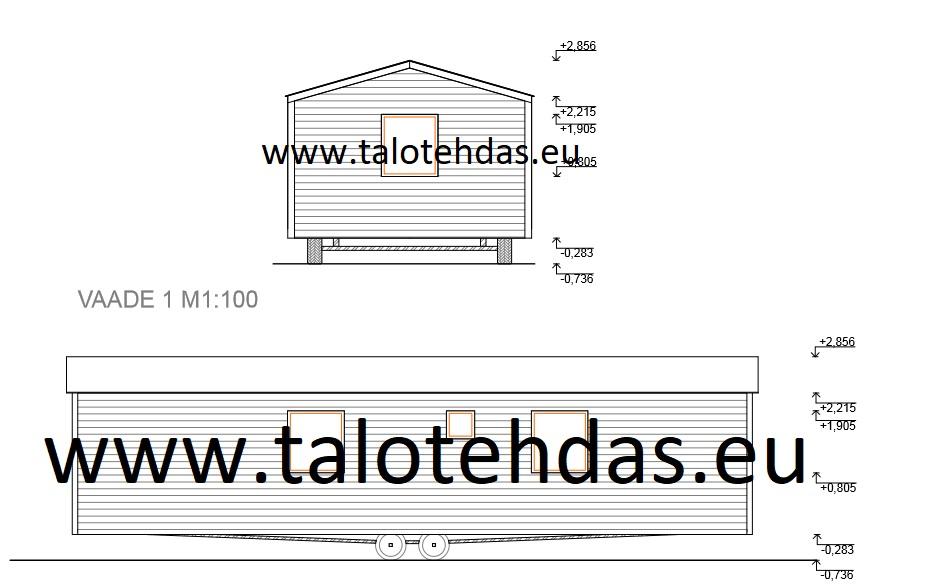 Ratastel maja, ratastel majad eesti, tootmine suvemajd, aiamajad