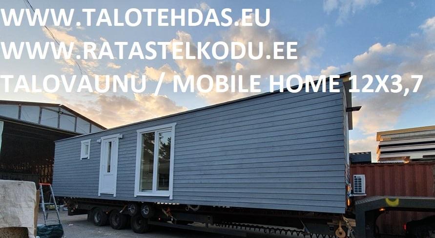 Talovaunu 12x3,7_husvogn, villavagn, mobile homes