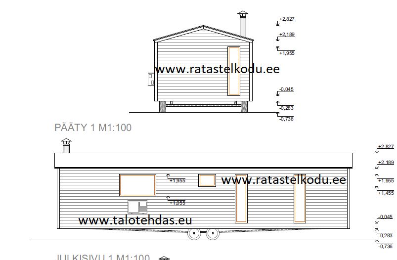 Villavagnar 12x4,3, villavagn, husvogn, mobile homes