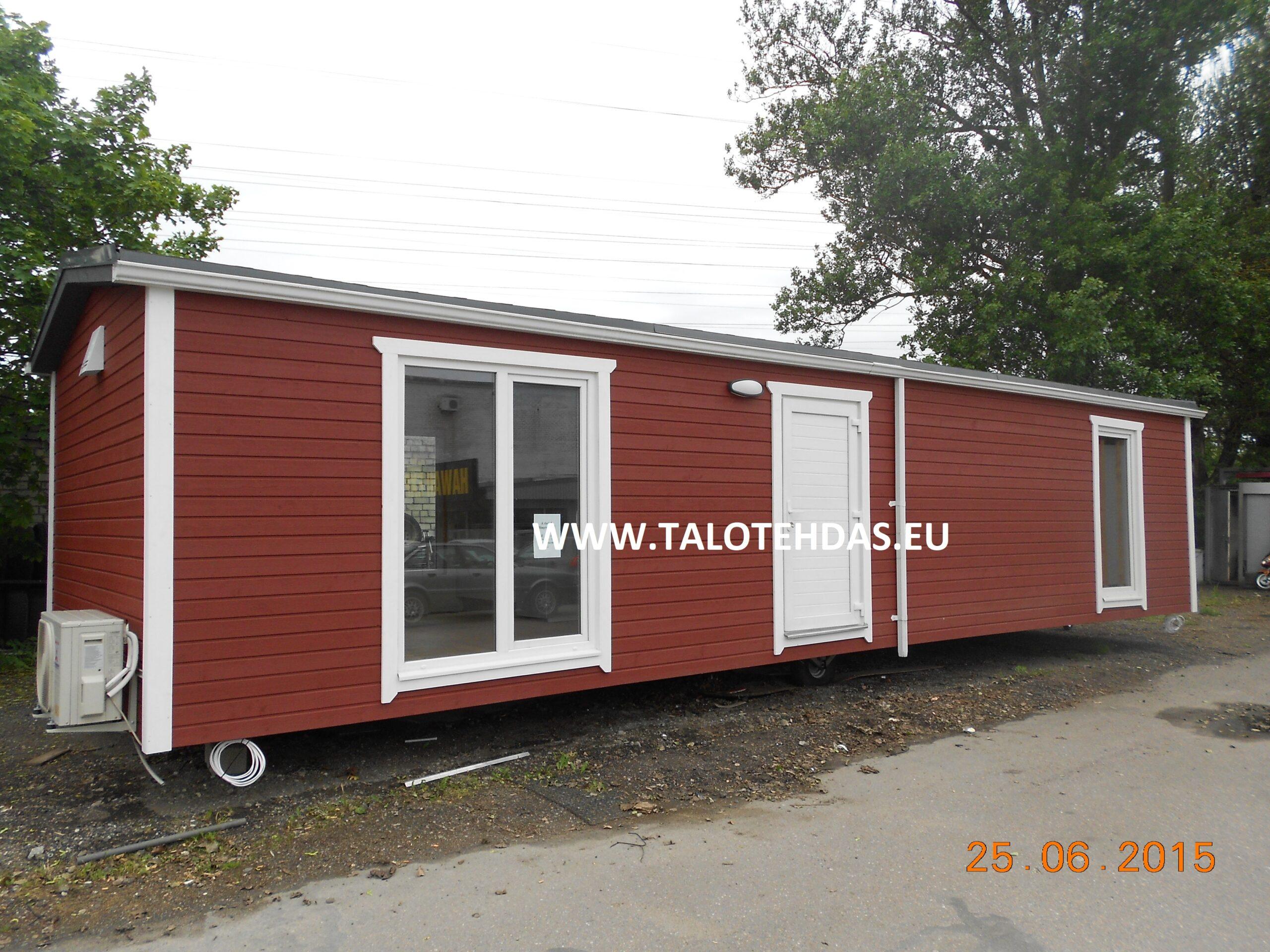 Talotehdas, talovaunu virosta, talovaunu