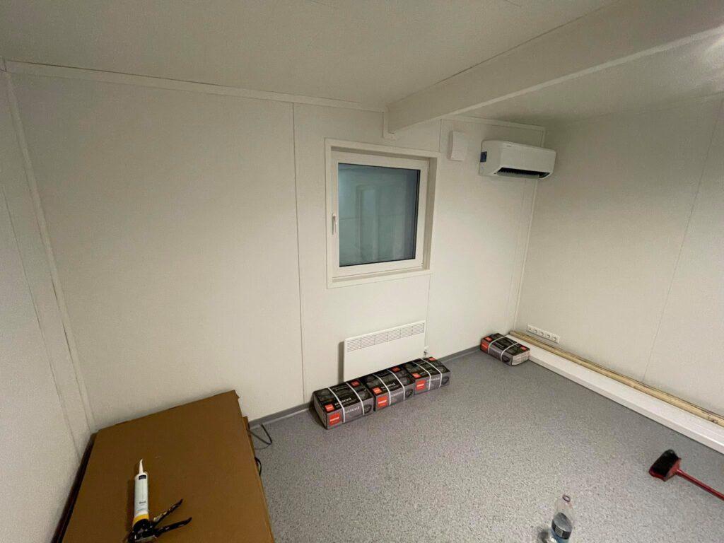 Talovaunu-huone-magamistuba, soojuspump, ventilatsioon, ratastel maja